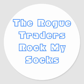 Rogue Traders Classic Round Sticker