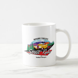 Rogue Valley Street Rods Club Southern OR Coffee Mugs