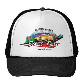 Rogue Valley Street Rods Custom Club Southern OR Mesh Hat