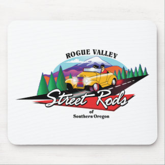 Rogue Valley Street Rods Custom Club Southern OR Mouse Pad