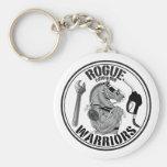 Rogue Warrior B&W Keychain