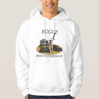 Rogue: Watch Your Back Hoodie