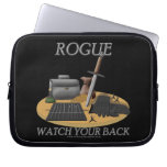 Rogue: Watch Your Back Laptop Computer Sleeve