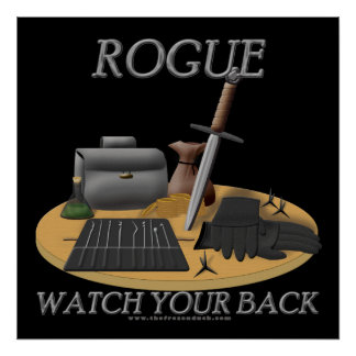 Rogue: Watch Your Back Poster