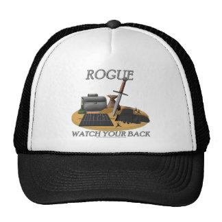 Rogue: Watch Your Back Trucker Hat