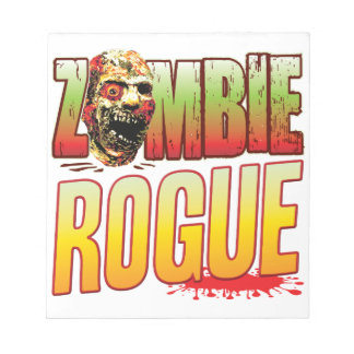 Rogue Zombie Head Memo Notepad