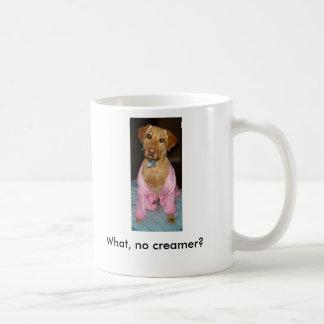 roguerobe 027, What, no creamer? Coffee Mug
