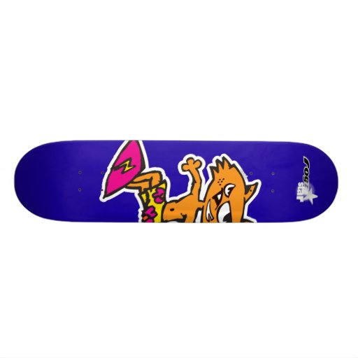 Rogzstar Mungo Jerry Surf Skateboard