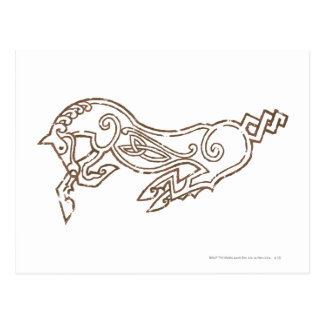 Rohan Symbol Postcard