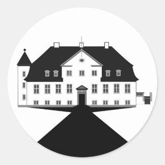 Rohden Manor House - Logo Classic Round Sticker