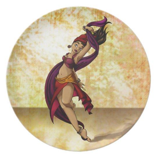 Rohesia Dancer Dinner Plate