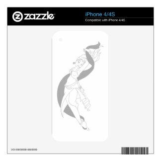 Rohesia Dancer iPhone 4 Skins