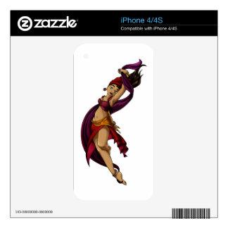 Rohesia Dancer iPhone 4S Decal
