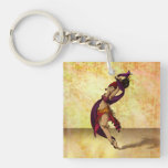Rohesia Dancer Double-Sided Square Acrylic Keychain