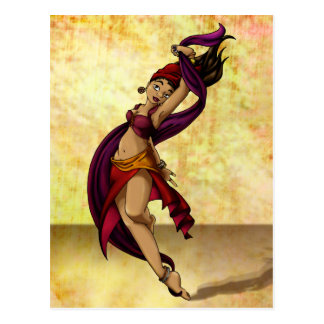 Rohesia Dancer Postcard