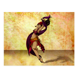 Rohesia Dancer Post Card