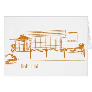 Rohr Hall Card
