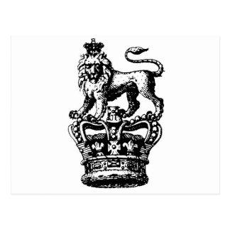 ROI DE LION POSTCARD
