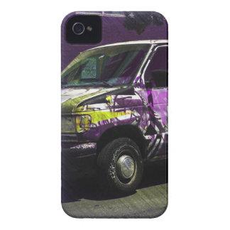 Roid de Van A - camión de la pintada de San iPhone 4 Case-Mate Cobertura