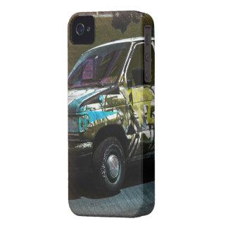 Roid de Van A - camión de la pintada de San iPhone 4 Case-Mate Coberturas