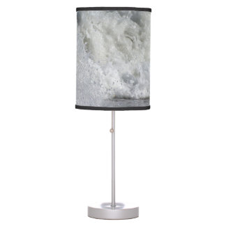 roiling waves on florida beach desk lamp
