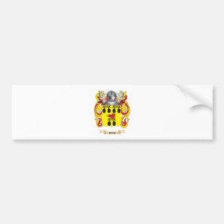 Roiz Coat of Arms (Family Crest) Car Bumper Sticker