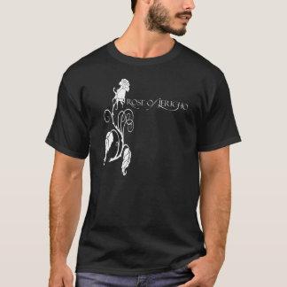 ROJ Rose Logo Black T-Shirt