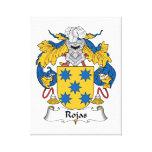Rojas Family Crest Canvas Print