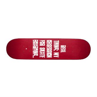 rojo01, Real Thing: My obsession for skate boar... Skateboard Decks