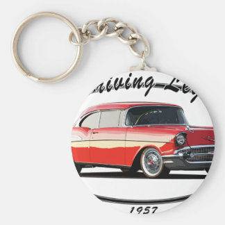 ROJO 1957 DEL BEL AIR LLAVERO