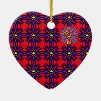 Rojo 1 del mosaico de la MAMÁ Ornamentos De Reyes