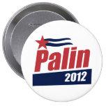 Rojo 2012 del poster de Palin Pins