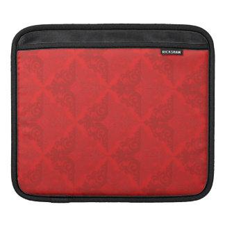 rojo adornado del modelo del diamante funda para iPads