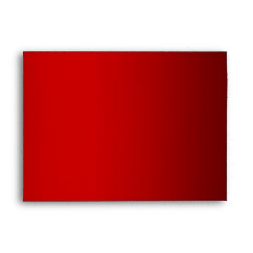 Rojo alineado con el sobre blanco y negro de las r