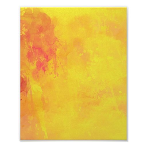 Rojo amarillo-naranja del extracto de la acuarela  fotos