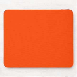 Rojo anaranjado mousepad