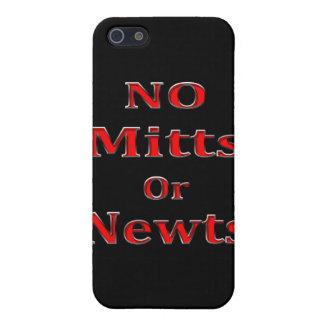 Rojo anti de Newt Gingrich Mitt Romney iPhone 5 Cárcasa