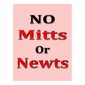 Rojo anti del negro de Newt Gingrich Mitt Romney Postal