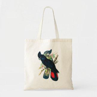 Rojo atado, Cockatoos. negros (de Banksian) Bolsas De Mano