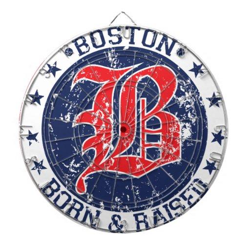 Rojo aumentado llevado Boston