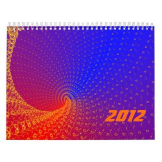 Rojo-Azul Calendarios De Pared