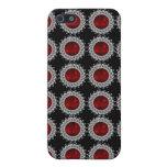 Rojo Bejewelled 4 iPhone 5 Fundas