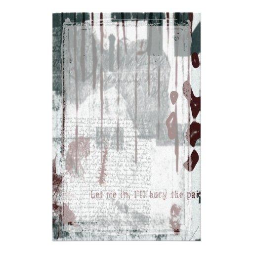 Rojo blanco negro por todo los efectos de papelería de diseño