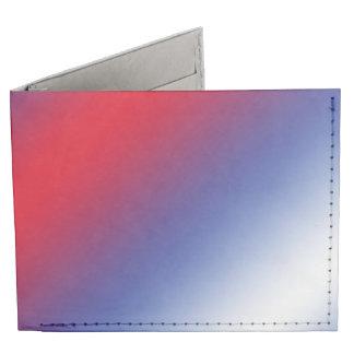 Rojo, blanco y azul billeteras tyvek®