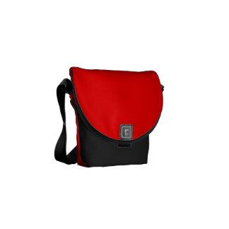 Rojo Bolsas Messenger