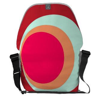 Rojo Bolso-Que ve del mensajero grande del carrito Bolsa Messenger