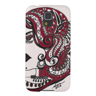 Rojo bonito de Stylista Carcasas De Galaxy S5