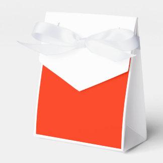 Rojo brillante cajas para regalos de fiestas