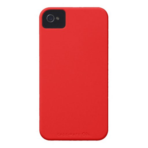 Rojo brillante carcasa para iPhone 4 de Case-Mate