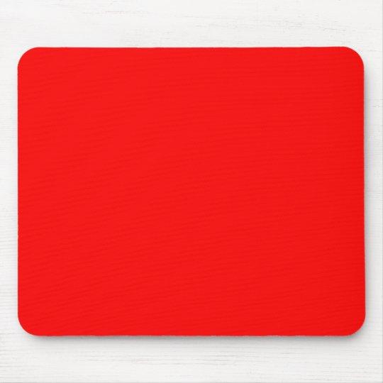 Rojo brillante mousepad